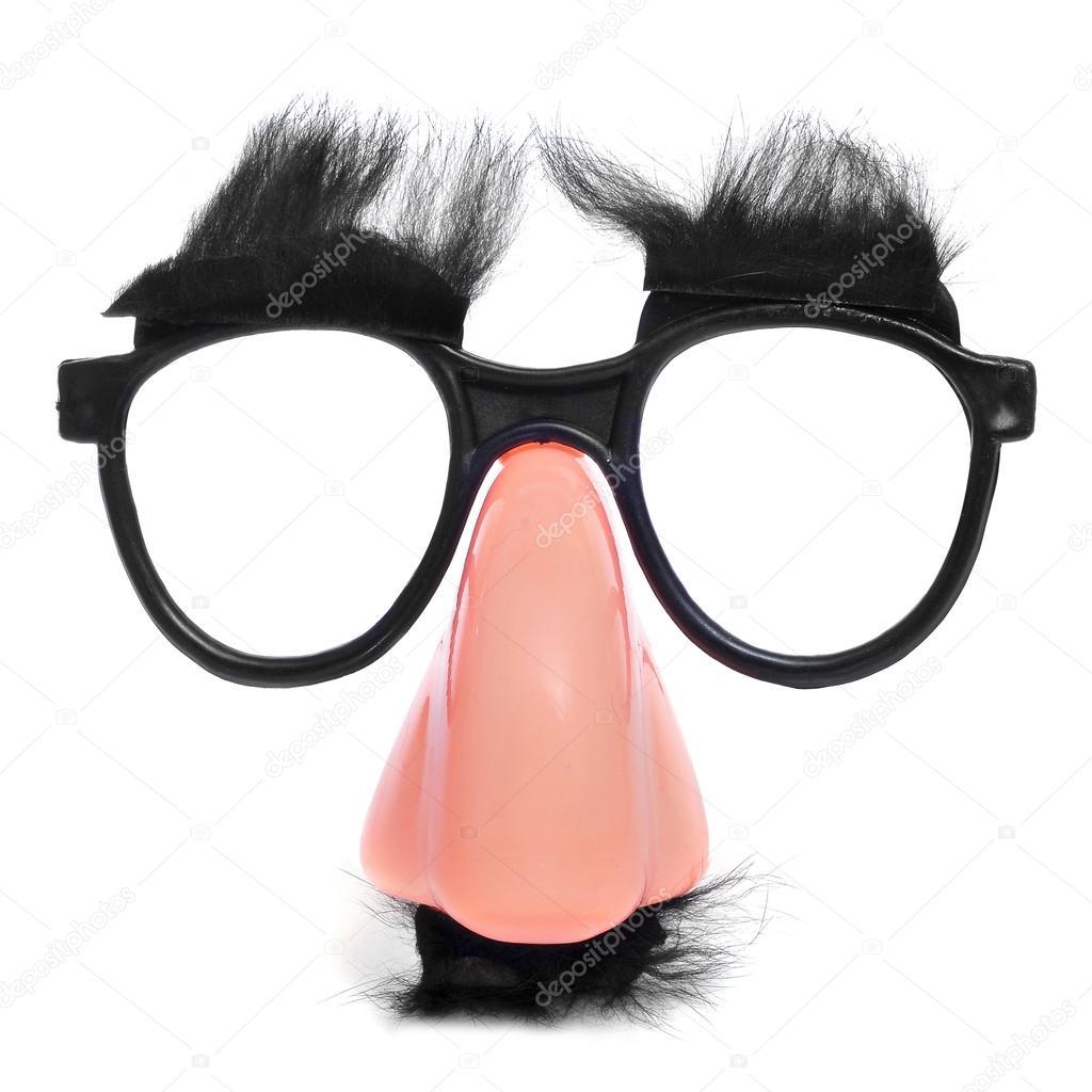 c38e4fd5d8d87 óculos e nariz falso — Stock Photo © nito103  19402445