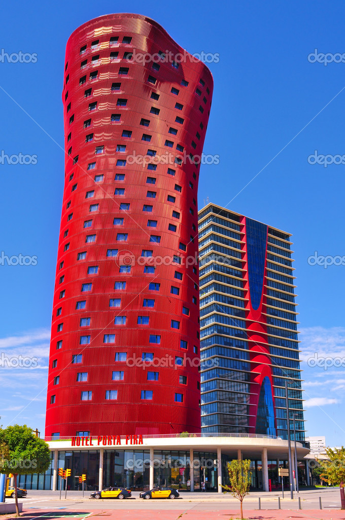 Hotel Porta Fira In Barcelona Spain Stock Editorial Photo - Hotel porta fira