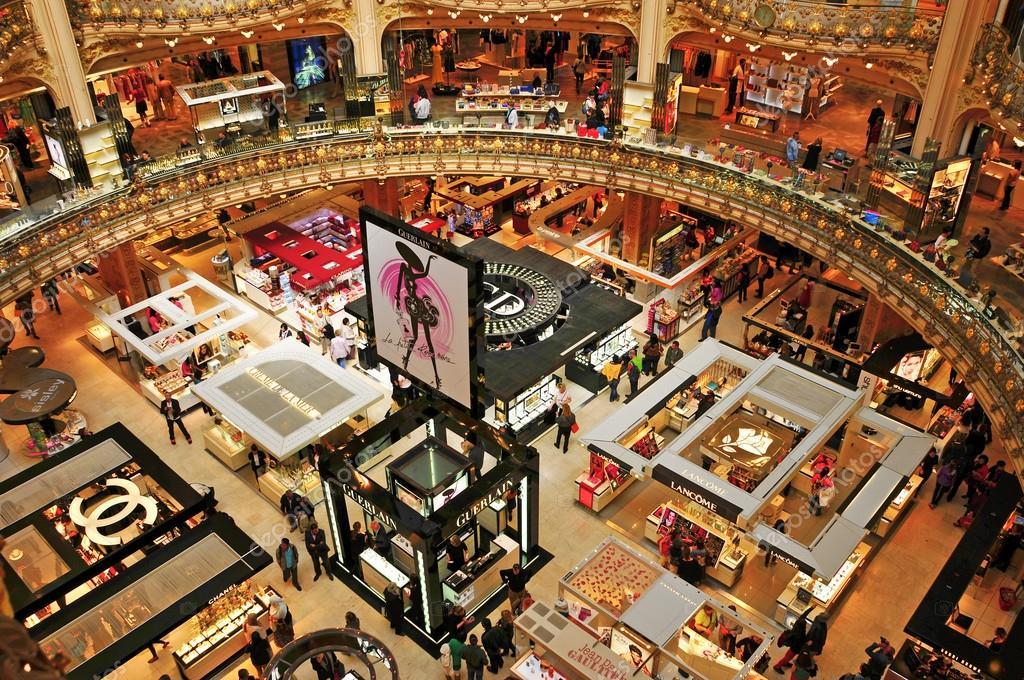 Favori Galeries Lafayette in Paris, France – Stock Editorial Photo  QR19