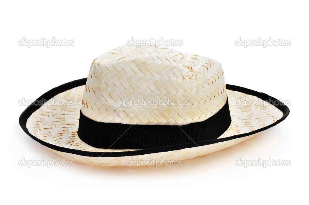 6c259b1dd chapéu de palha para homem — Fotografias de Stock © nito103  49957017