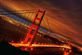 Fotografia tramonto al golden gate bridge