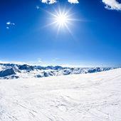 Fotografie zimní horské krajiny