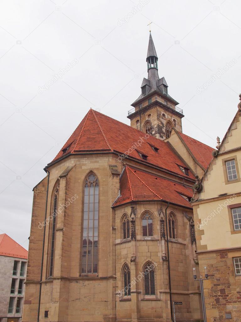 聖堂参事会教会、シュトゥットガ...