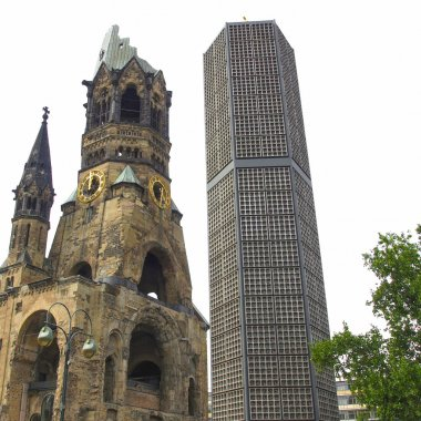 Bombed church, Berlin
