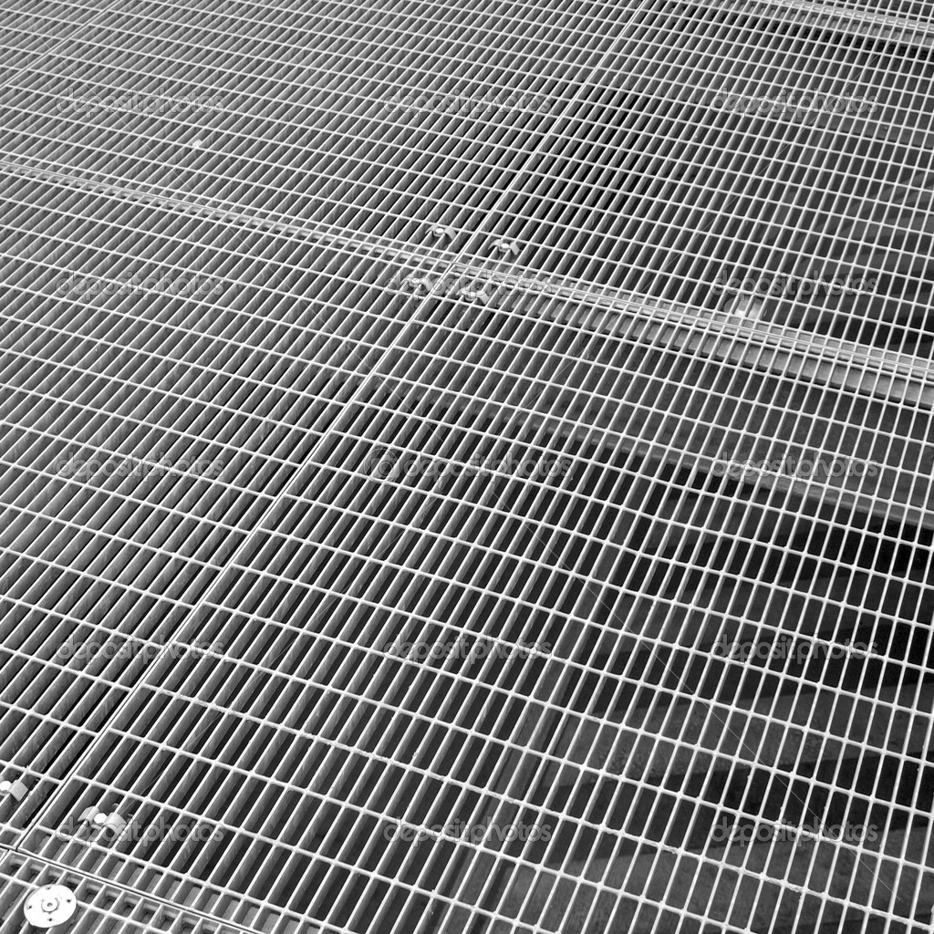 Stainless steel grid mesh — Stock Photo © claudiodivizia #21312719