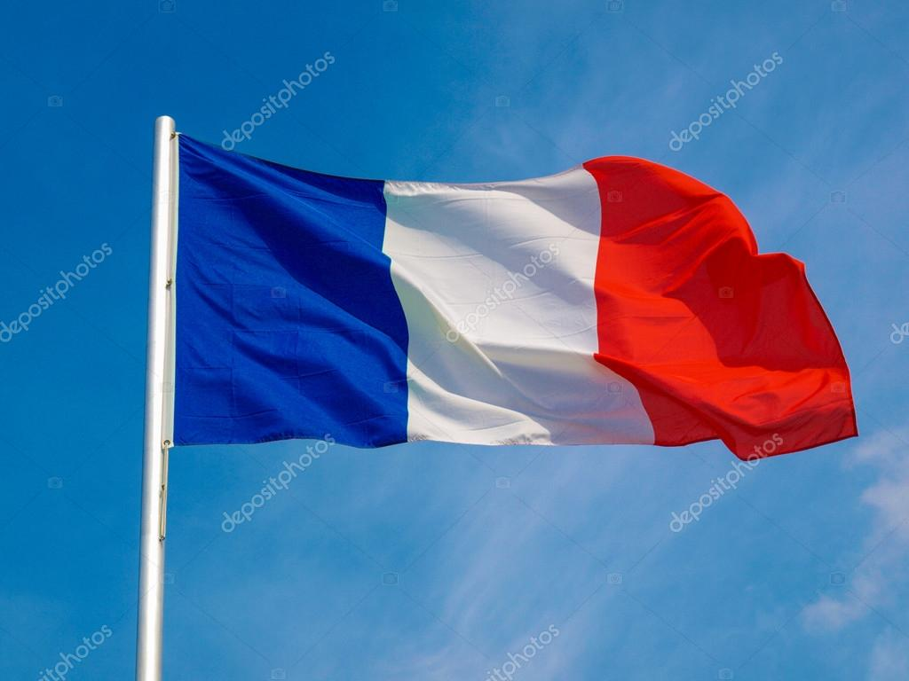 Suficiente Bandeira da França — Stock Photo © claudiodivizia #26675023 VR88