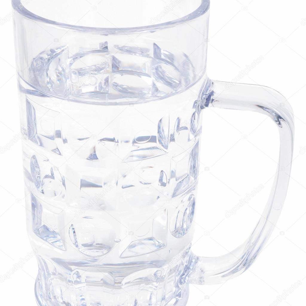 vaso de agua en aleman