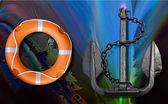 Lifebuoy e ancoraggio