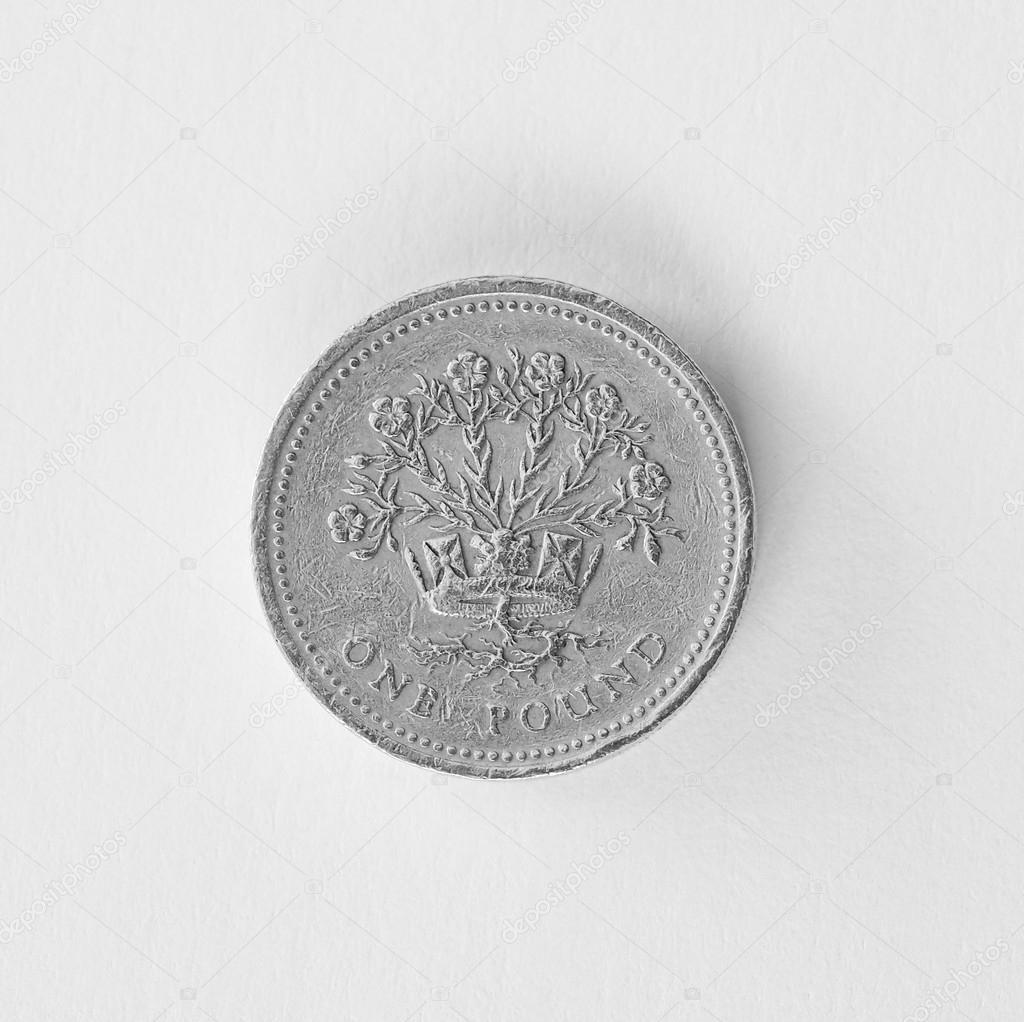 Britische Pfund Münze Stockfoto Claudiodivizia 37732345