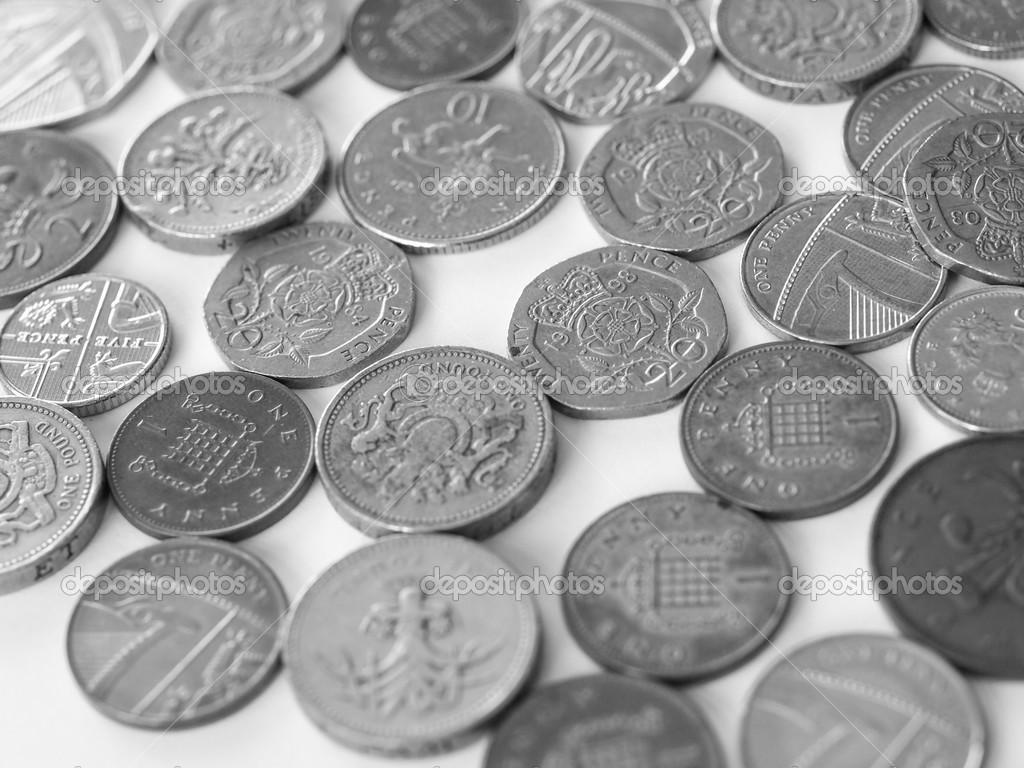 Britische Pfund Münze Stockfoto Claudiodivizia 38170977