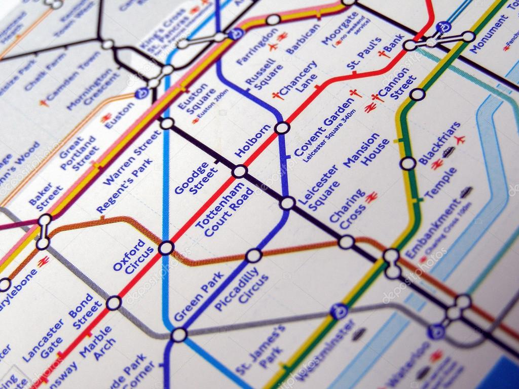 london england uk november 04 2007 tube map of the london underground subway lines photo by claudiodivizia