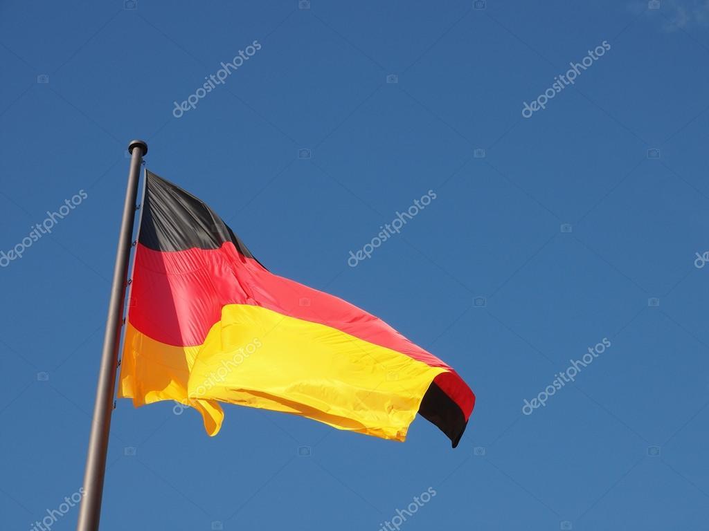 deutsche fahne stockfoto claudiodivizia 49148959. Black Bedroom Furniture Sets. Home Design Ideas