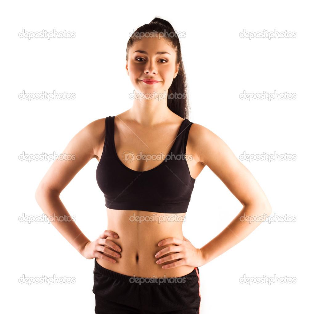 femme sportive musclee