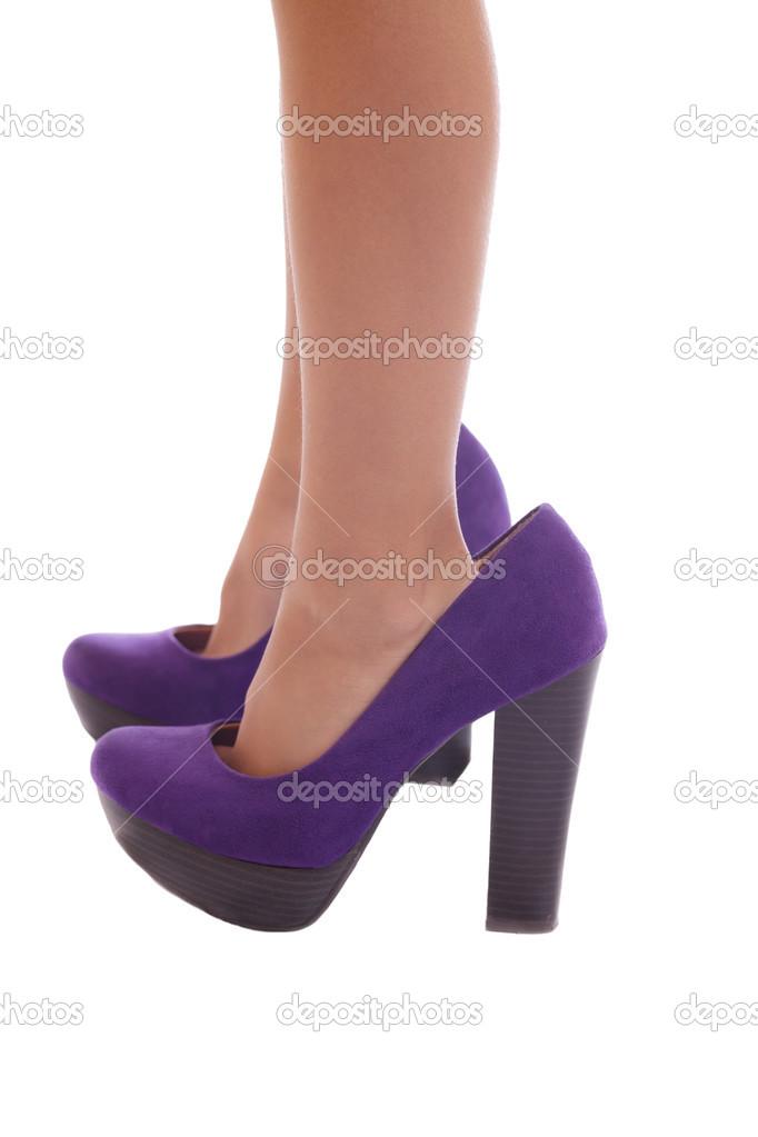 38df402d pies pequeños en grandes zapatos — Fotos de Stock © javimartin #13617887