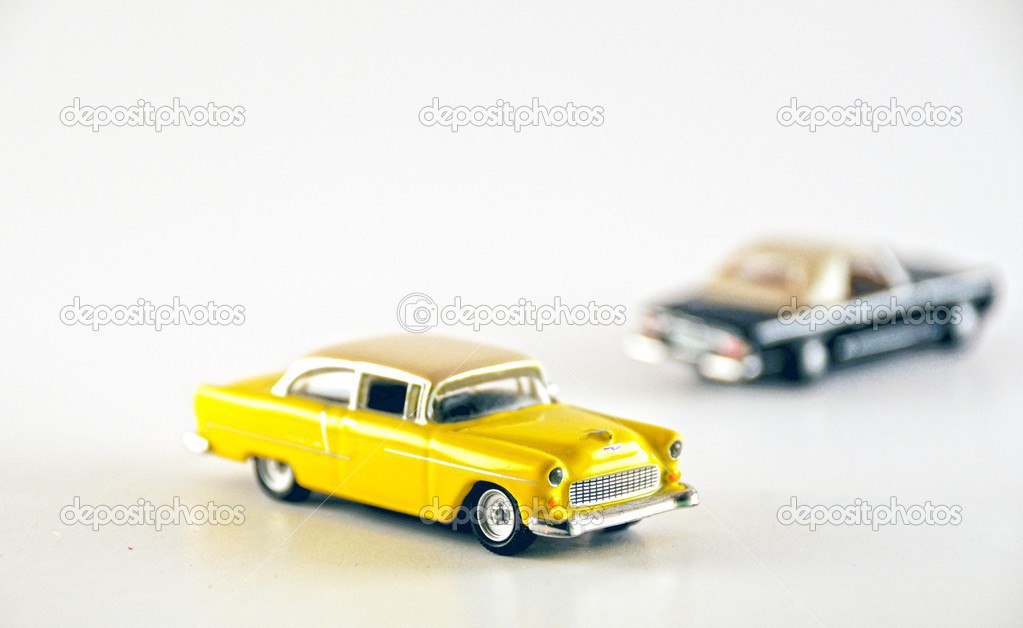 Metal-old model cars — Stock Photo © mg1408 #39766085