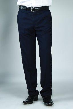 Close up of man's business pants