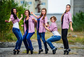 yang európai csap tánccsoport végre szabadtéri