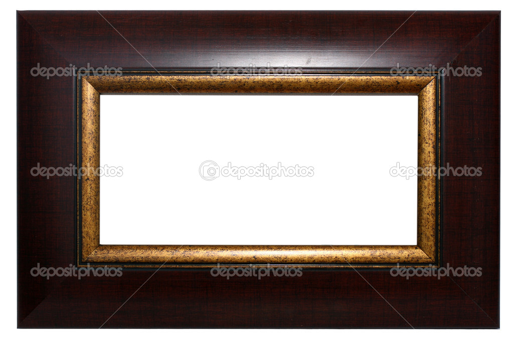 Mahogany picture frame — Stock Photo © joycedragan #18990449