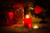 vánoční večer pozadí