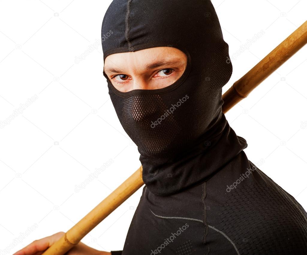 Секс девушка в маске ниндзя