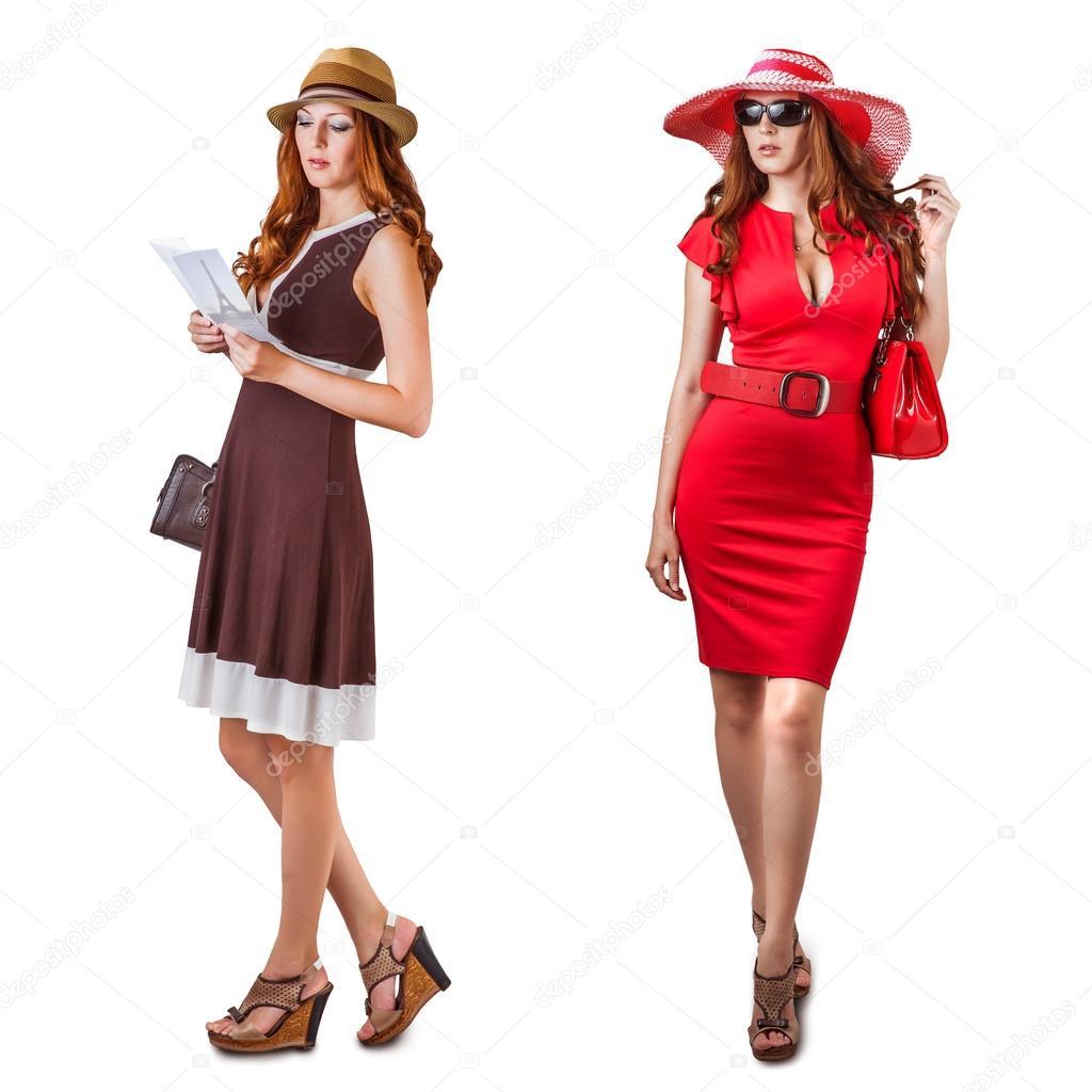 9c3f2aa9fb19 Vogue abiti e accessori donna — Foto Stock © katalinks  26789463