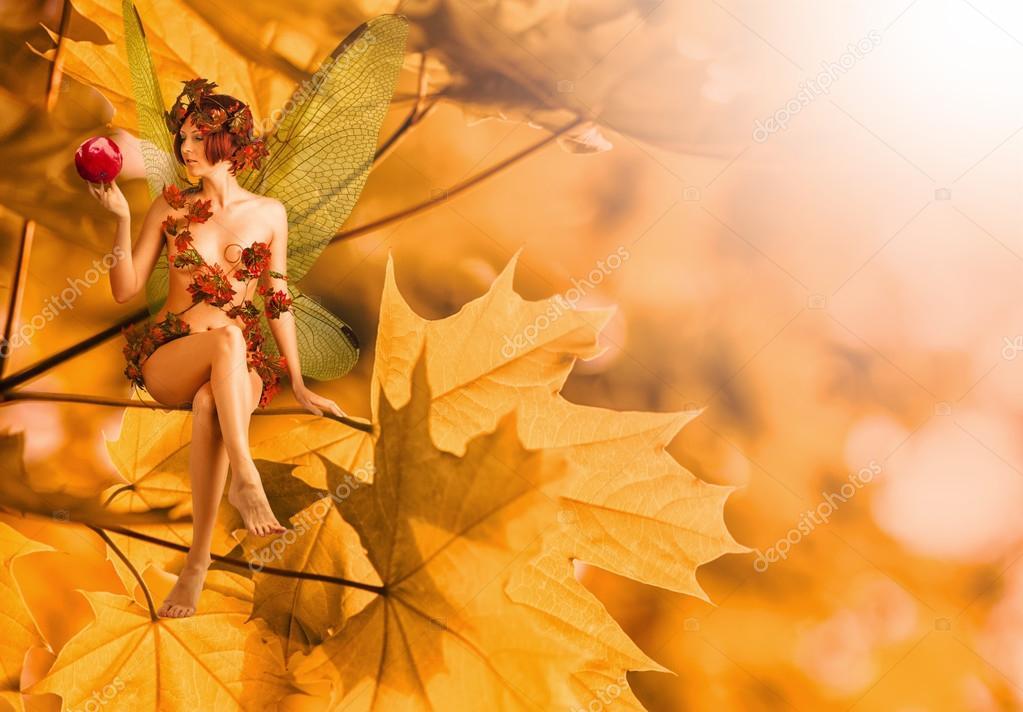 Resultado de imagen de hadas de otoño