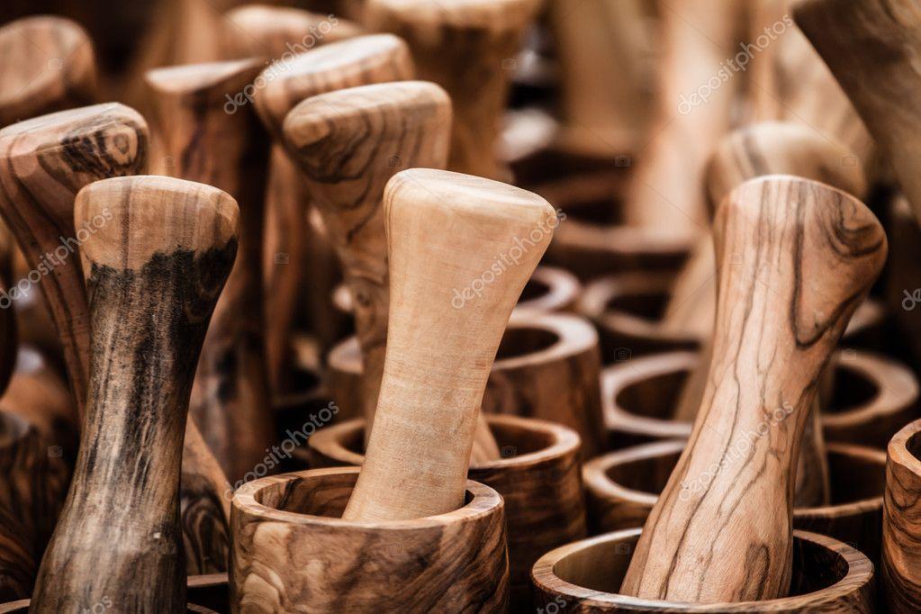 cuchillería olivo madera española tradicional tenedor cuchara ...