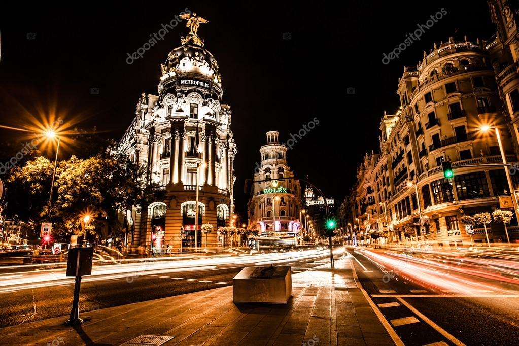 Noche fecha orgasmo en Madrid