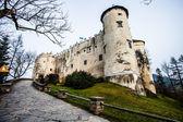 Niedzica hrad czorsztyn jezera v Polsku