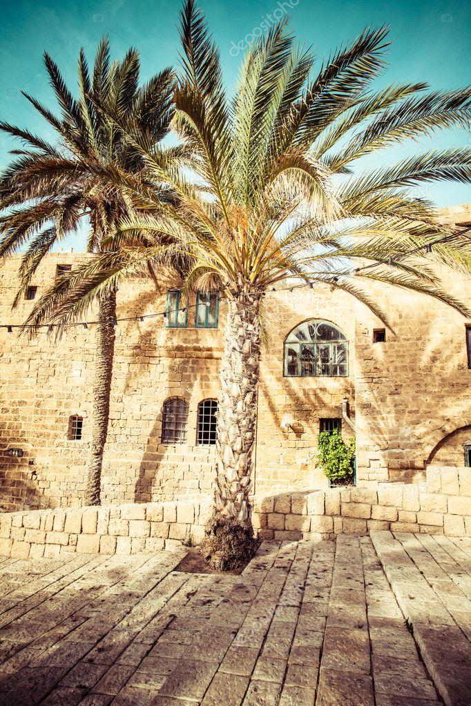 As velhas ruas de jaffa, tel aviv, israel — Foto de  Curioso_Travel_Photography