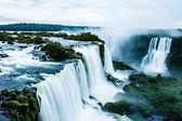 Iguassu falls, největší série vodopádů světa, pohled z brazilské strany