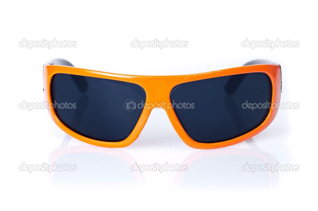 fd1fd0c0ba gafas de sol naranjas — Fotos de Stock © kreatorex #38362051