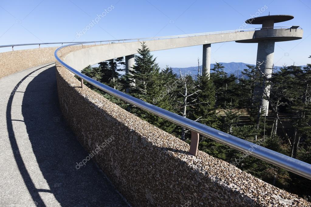 clingmans dome visitor center - 1024×683