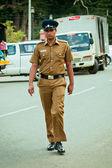 Photo Policeman in Sri Lanka