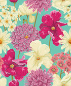 Fotografie Floral Seamless Pattern