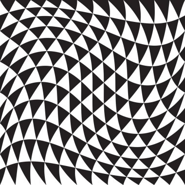 Abstract Seamless Triangle Pattern
