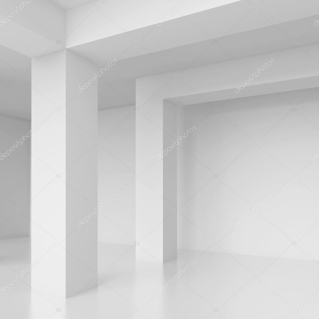 white interior background stock photo maxkrasnov 36698893. Black Bedroom Furniture Sets. Home Design Ideas