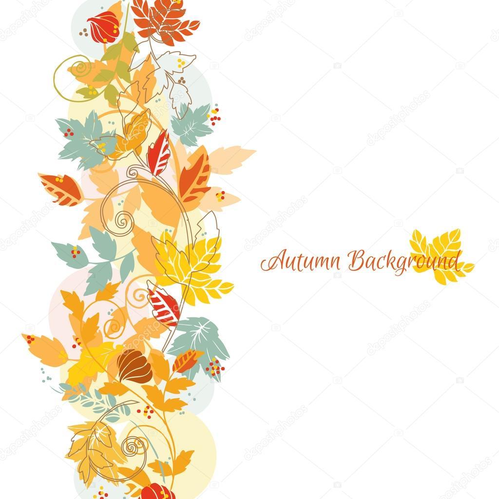 Fondo para scrapbook y dise o las hojas de oto o en - Descargar autumn leaves ...