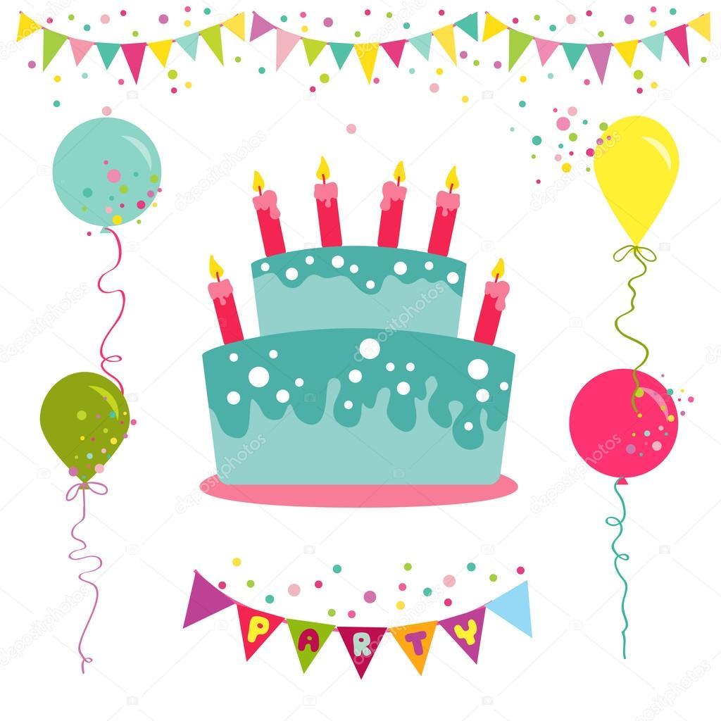 Feliz Cumpleaños Y Tarjeta De La Invitación Del Partido