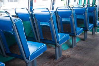 Seat on the bus.