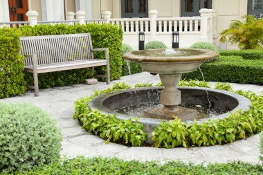 Basin and bench
