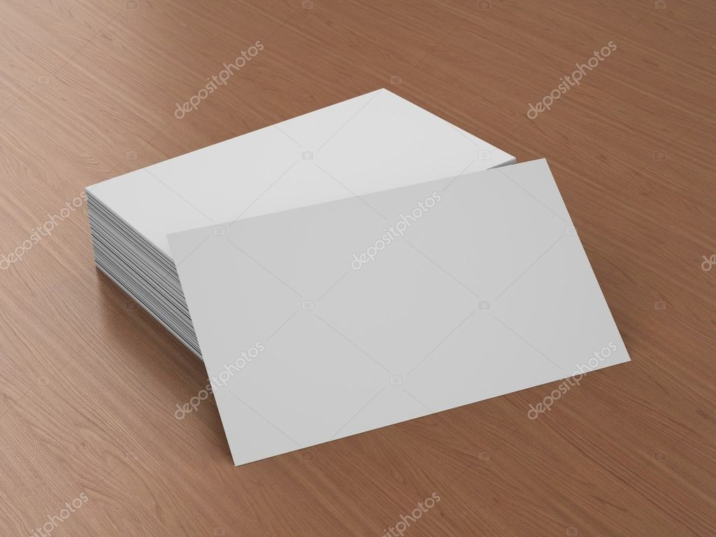 Business cards blank mockup template stock photo 3d render of business cards blank mockup photo by daliborzivotic accmission Choice Image