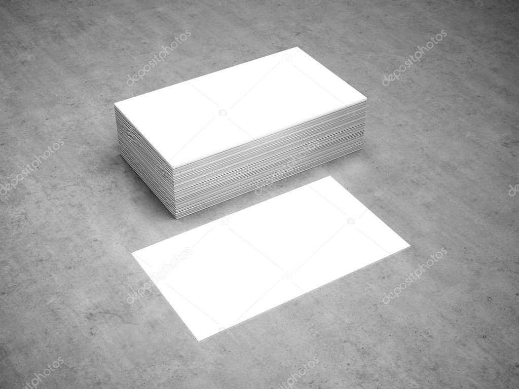 Business cards blank mockup template stock photo 3d render of business cards blank mockup photo by daliborzivotic wajeb Choice Image