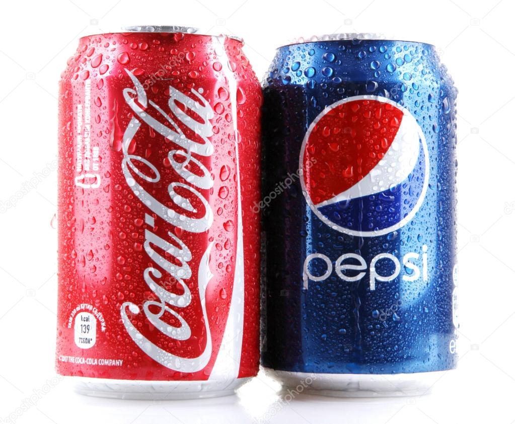 the world is a battleground for coca cola and pepsi