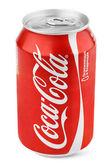 hliníkové červené může Coca-Cola