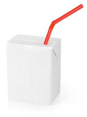 Milk or juice carton packag