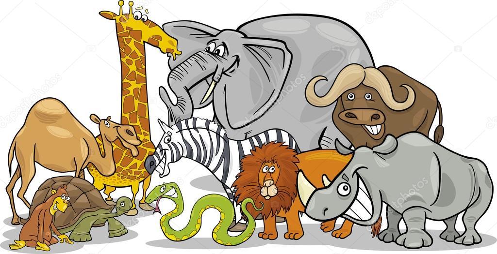 первых смешные рисунки про африку них имеет