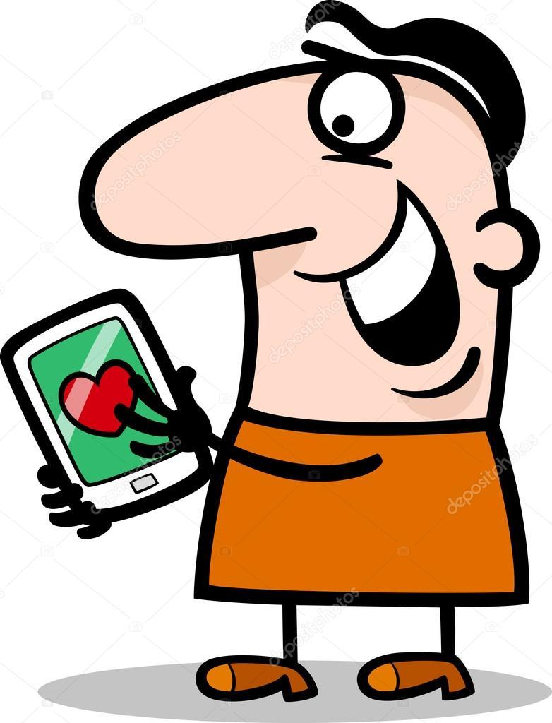 Dibujos Mensajes Con Animados De Amor Hombre Con Mensaje De Amor