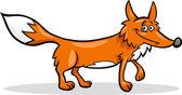 Photo wild fox cartoon illustration