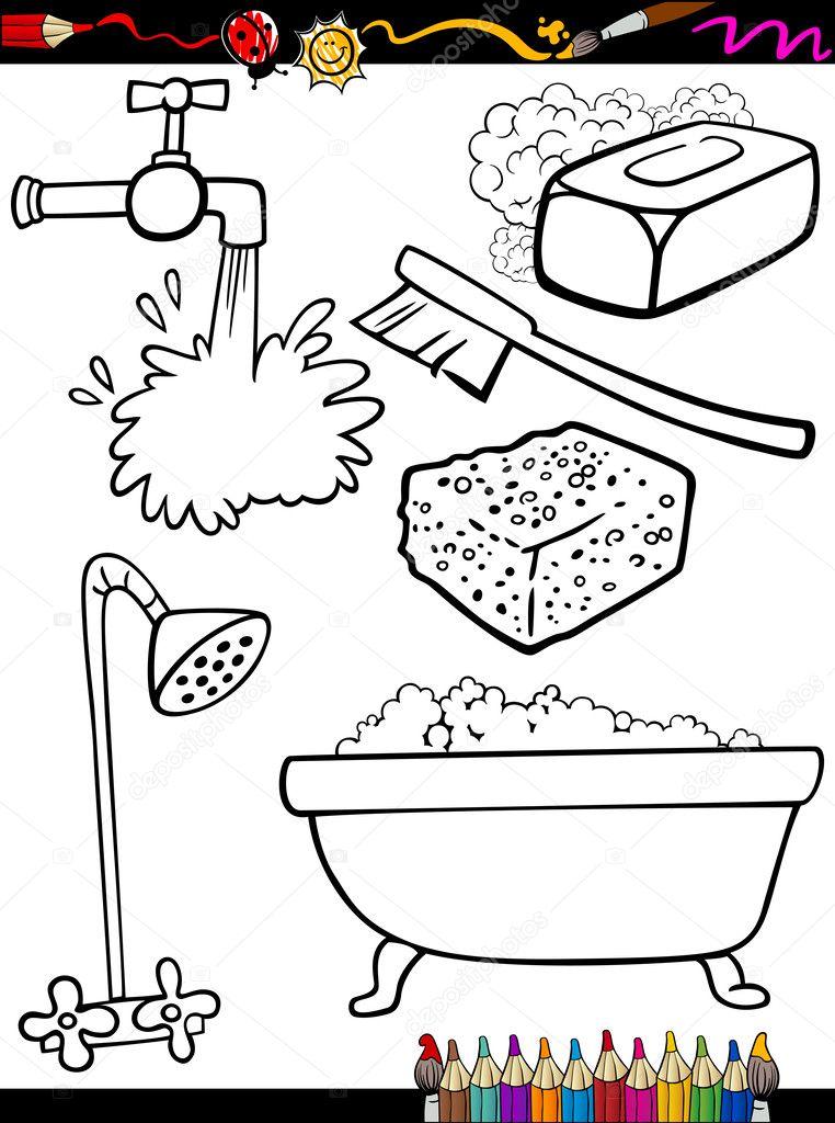 Imágenes Objetos De Higiene Animados Objetos De Higiene